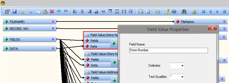 Extracting Field Name