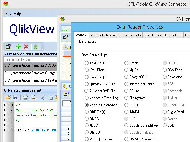 QlikView-Connector
