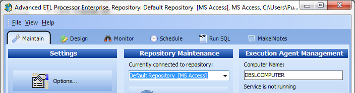 Working with repository