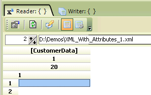 XML With Attributes Data