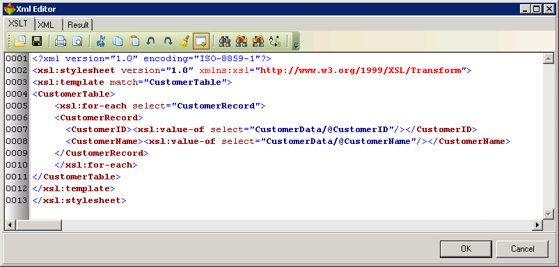 Data Source is a XML File [WIKI]